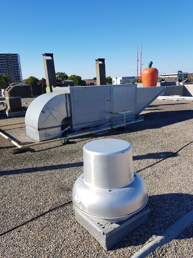 Roof top ventilation system