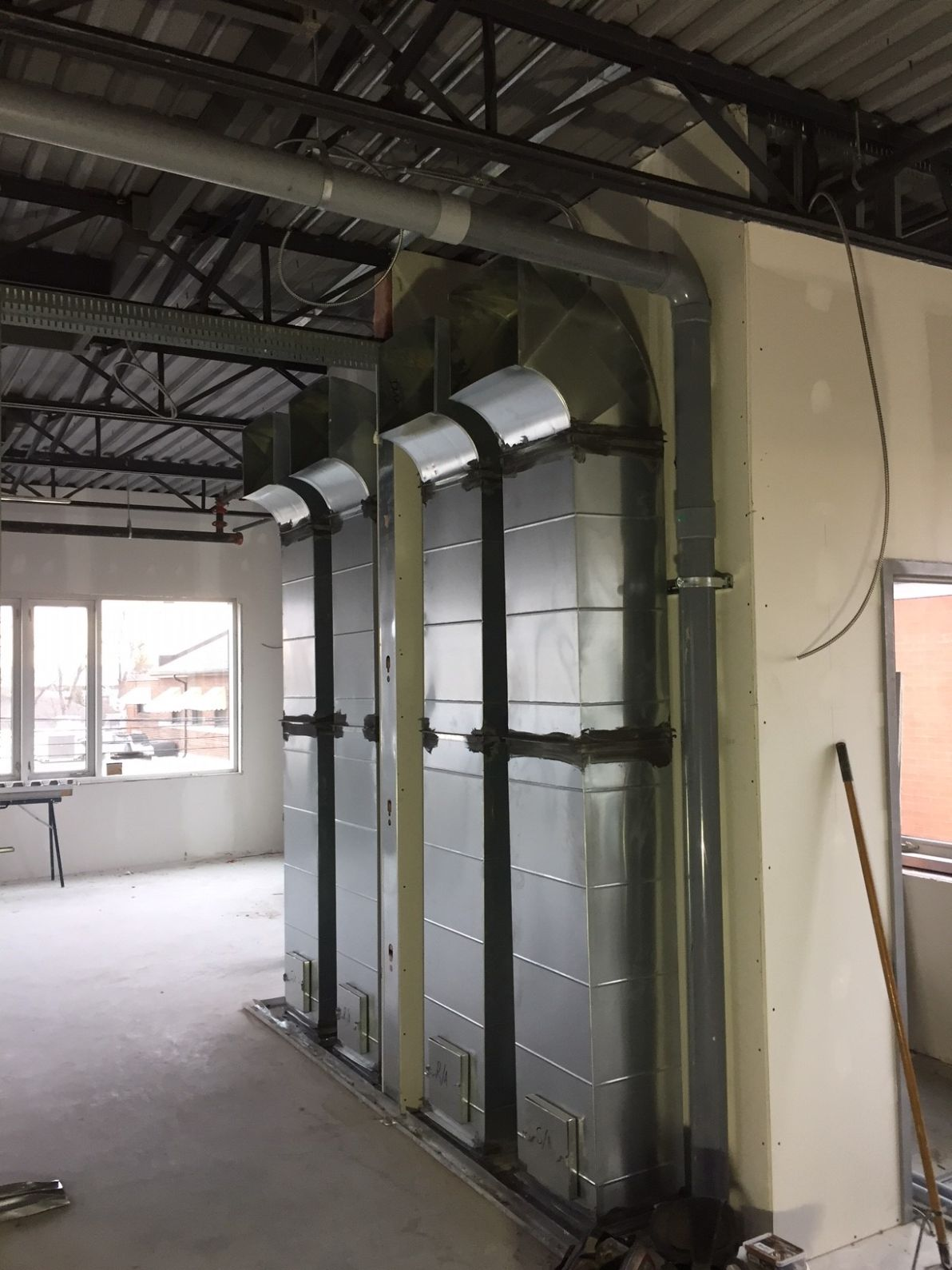 Air ventilation system duct