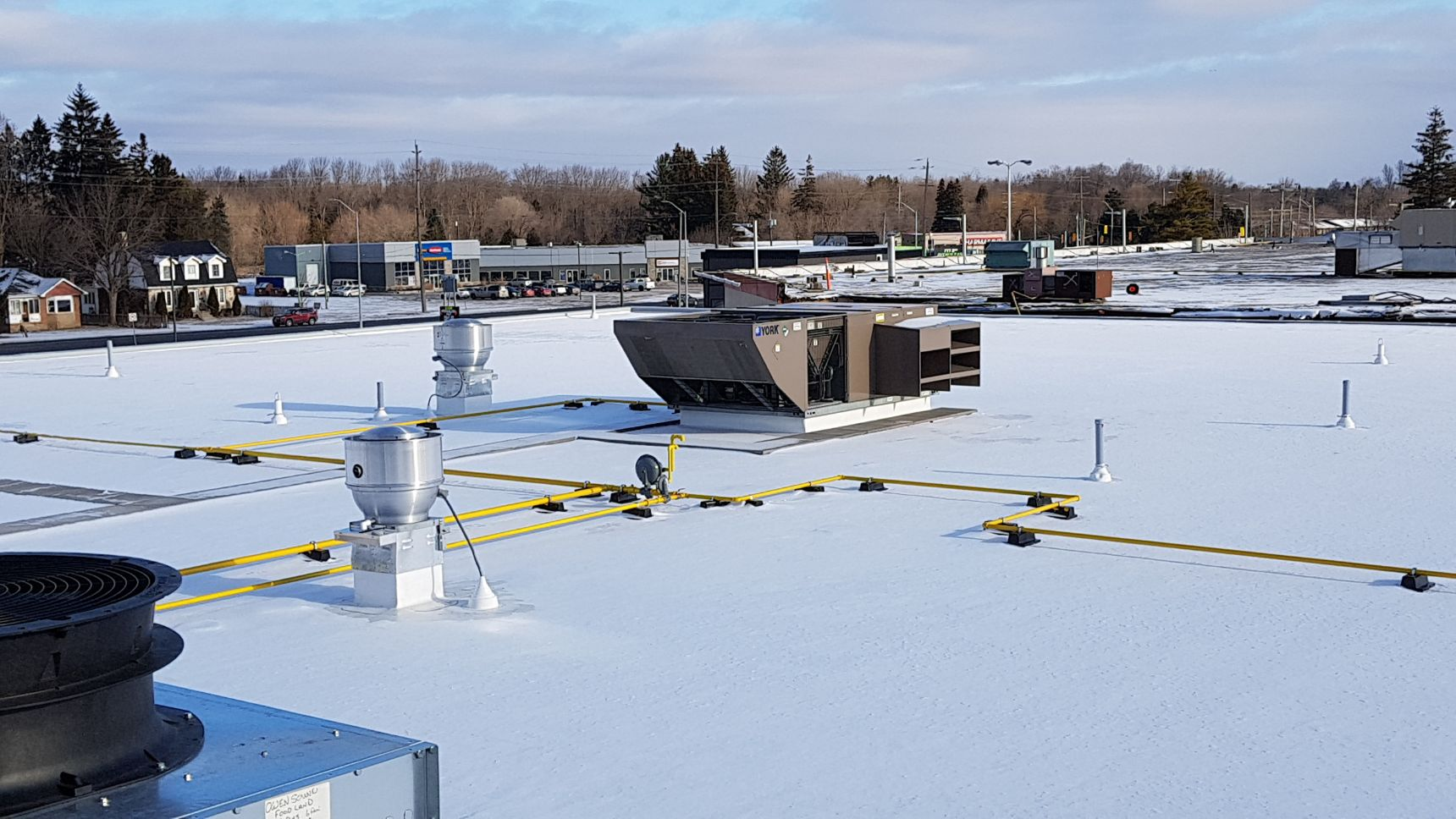roof top commercial ventilation system