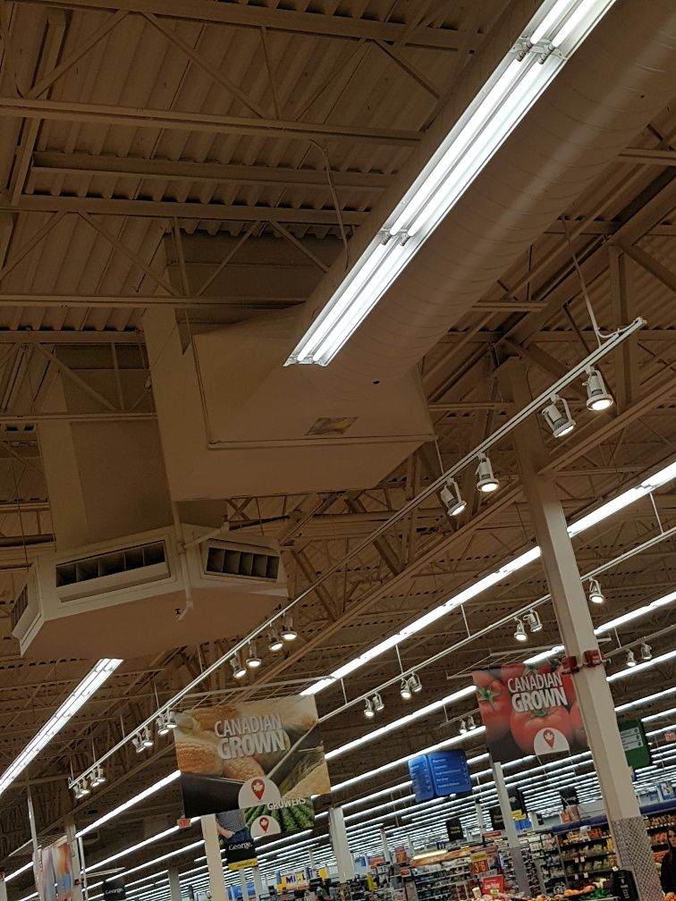 retail store ventilation system
